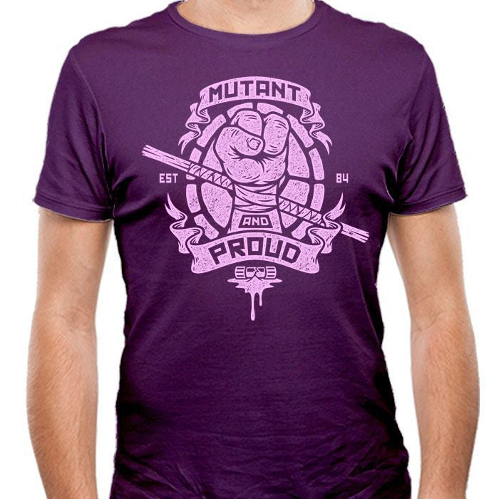 Mutant and Proud - Donnie - Men's Fitted T-Shirt
