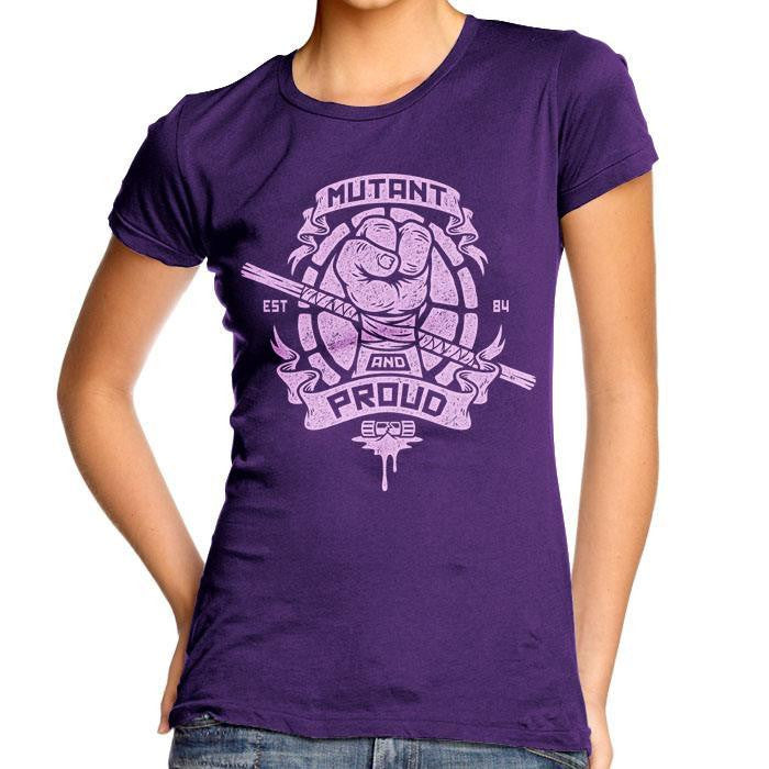 Mutant and Proud - Donnie - Women's Fitted T-Shirt