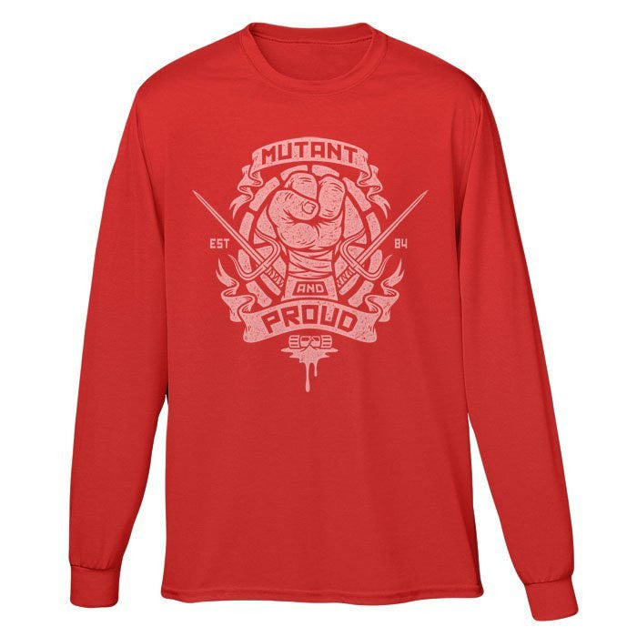 Mutant and Proud - Raph - Long Sleeve T-Shirt (Unisex)