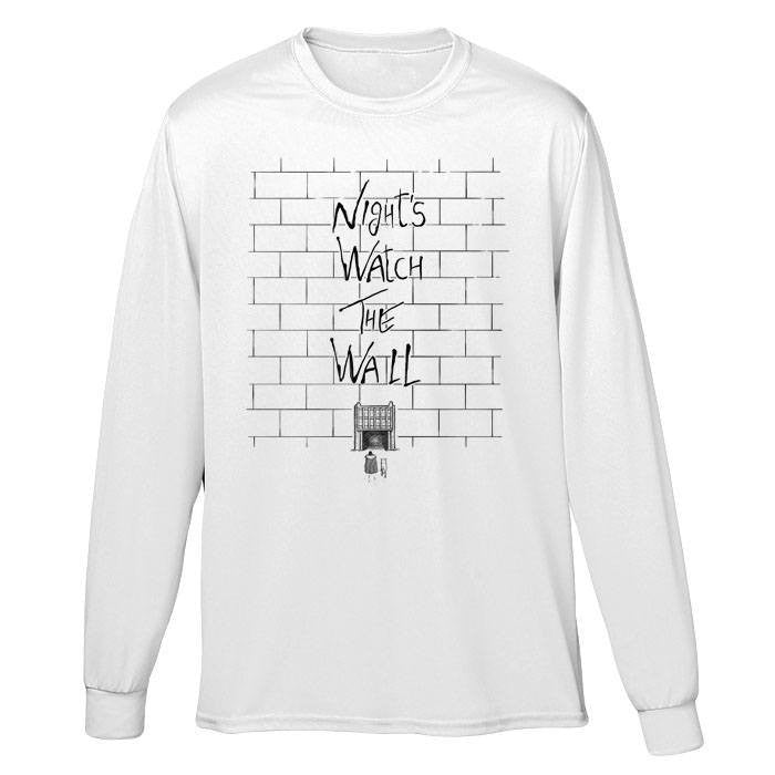 Night's Watch the Wall - Long Sleeve T-Shirt (Unisex)