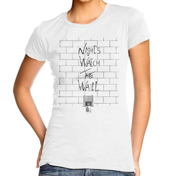 Night's Watch the Wall - Women's Fitted T-Shirt