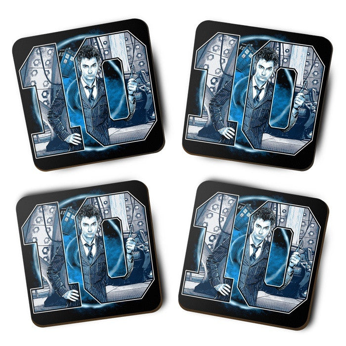Number 10 - Coasters