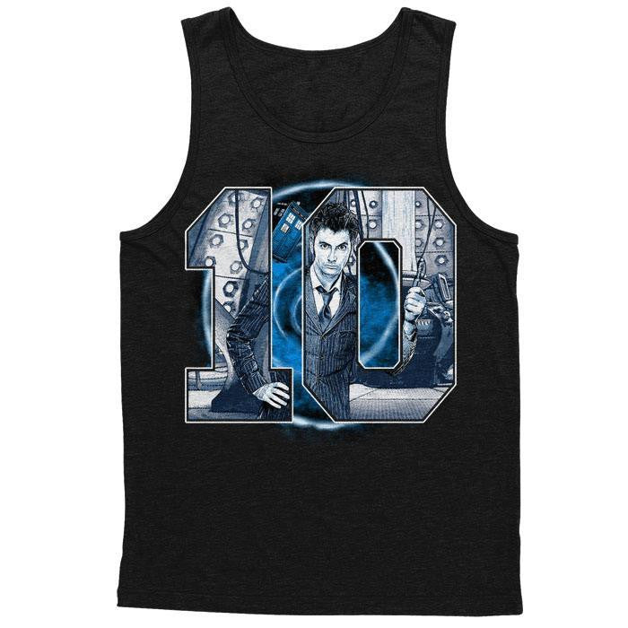 Number 10 - Men's Tank Top