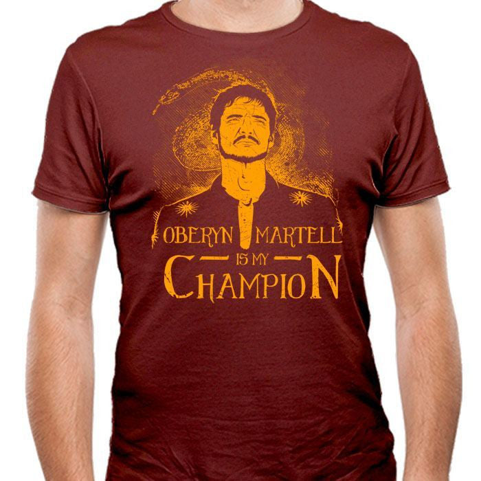 Oberyn is My Champion - Men's Fitted T-Shirt