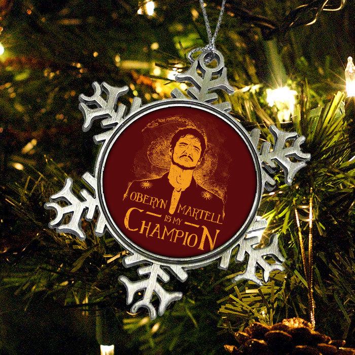 Oberyn is My Champion - Ornament