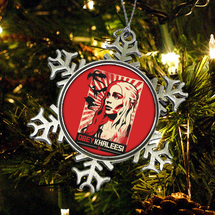 Obey Khaleesi - Ornament