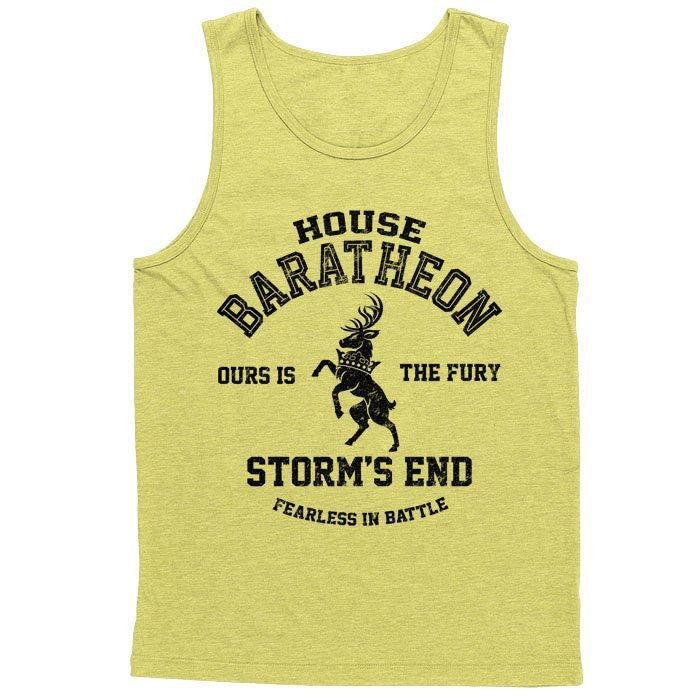 Ours is the Fury (Black) - Men's Tank Top