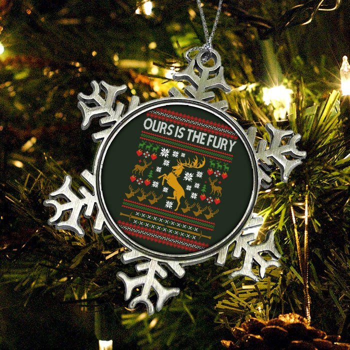 Ours is the Holiday - Ornament