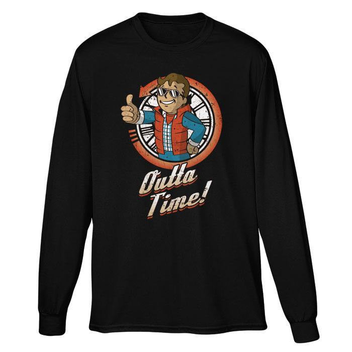 Outta Time - Long Sleeve T-Shirt (Unisex)