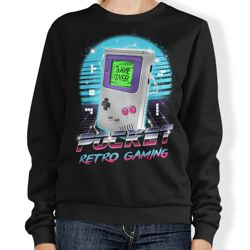 Pocket Retro Gaming - Sweatshirt