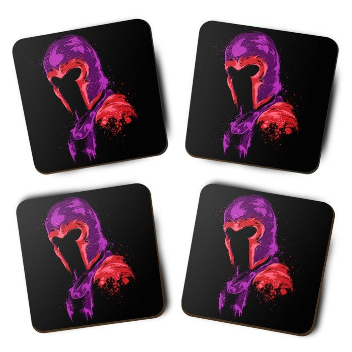 Power of Magnetism - Coasters
