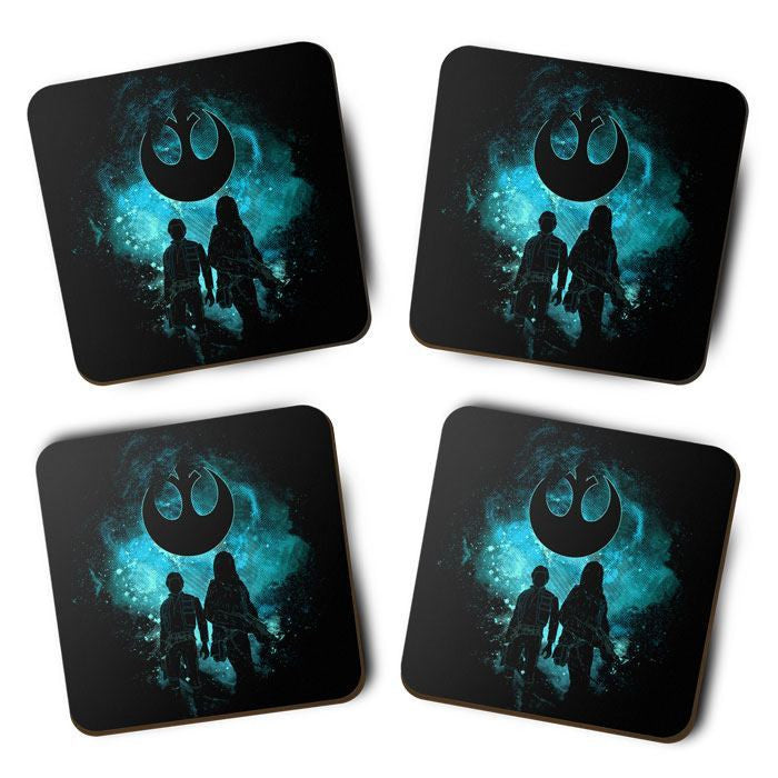 Rebel Art - Coasters