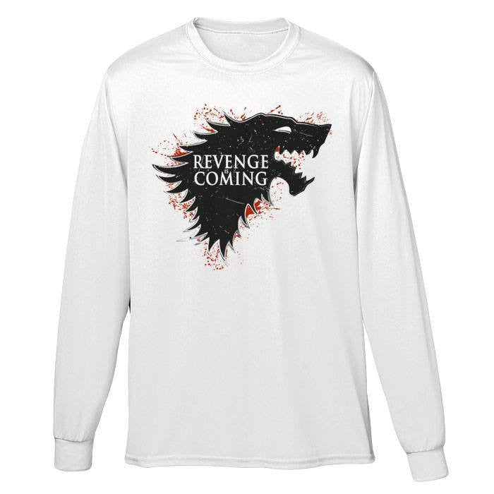Revenge is Coming - Long Sleeve T-Shirt (Unisex)