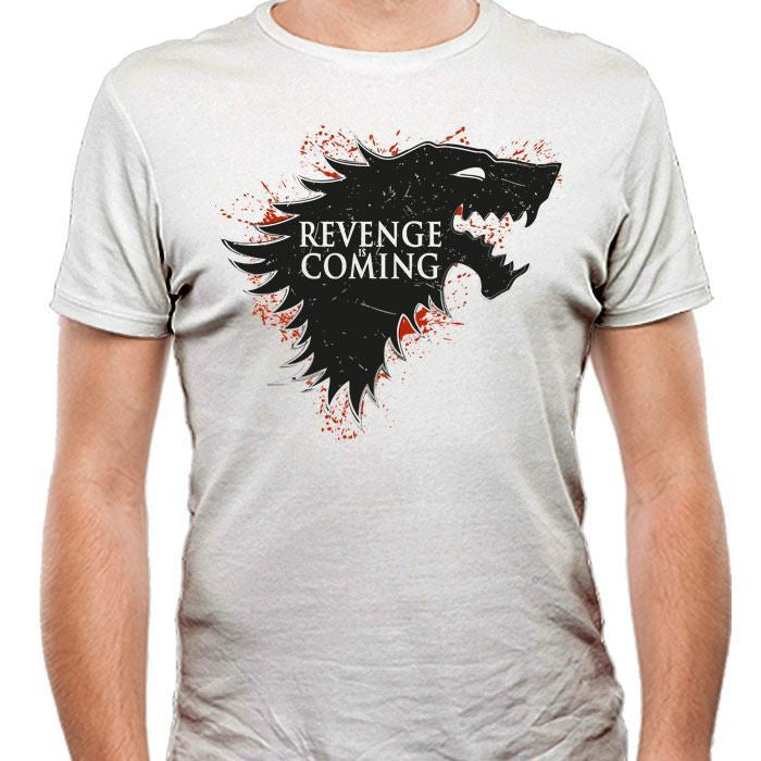 Revenge is Coming - Men's Fitted T-Shirt