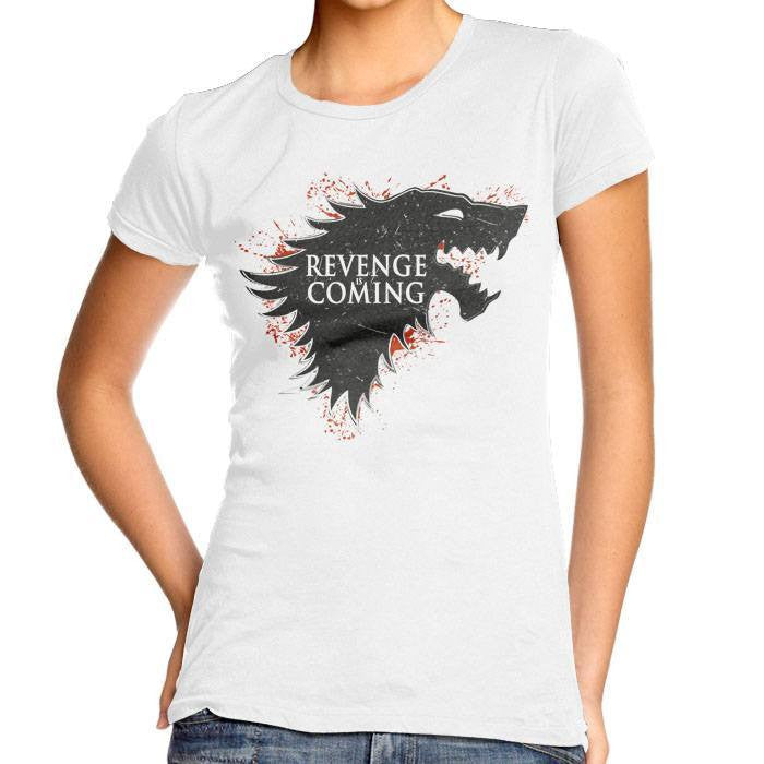 Revenge is Coming - Women's Fitted T-Shirt