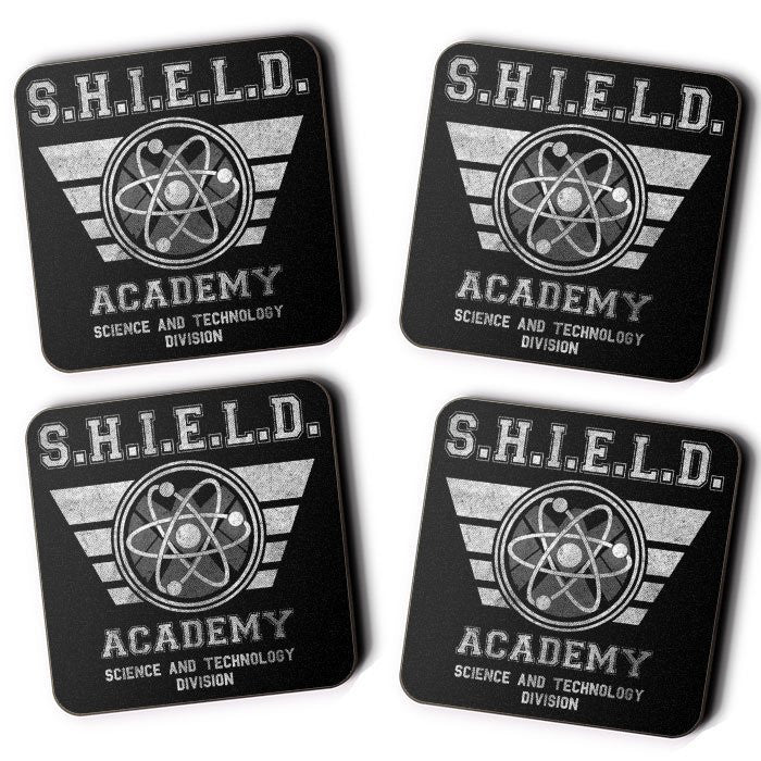 SHIELD University - Coasters