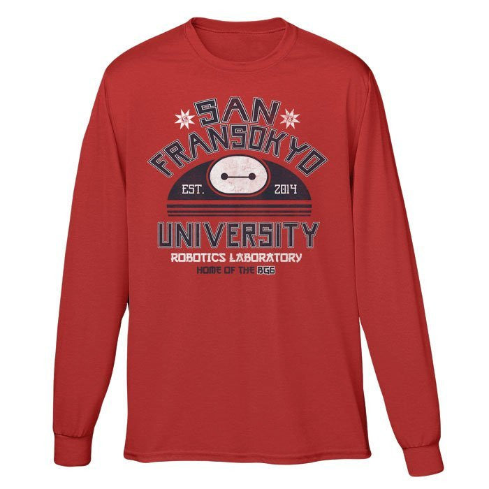 San Fransokyo University - Long Sleeve T-Shirt (Unisex)