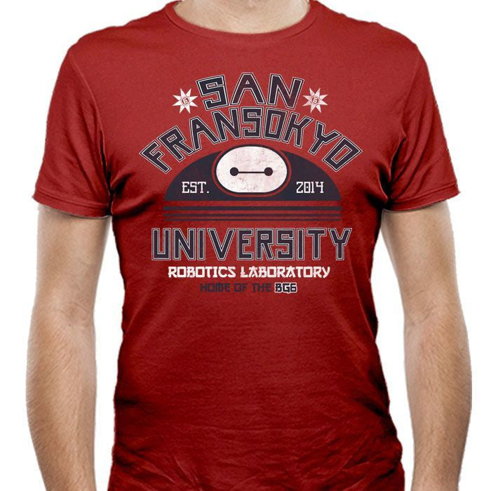 San Fransokyo University - Men's Fitted T-Shirt