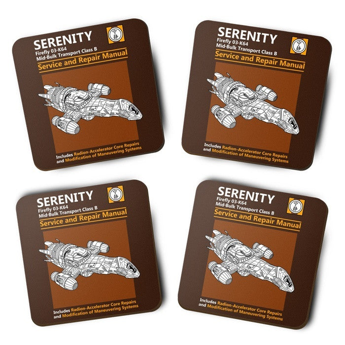 Serenity Service and Repair Manual - Coasters