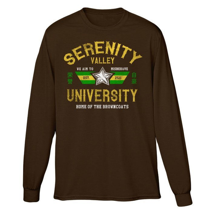 Serenity Valley University - Long Sleeve T-Shirt (Unisex)