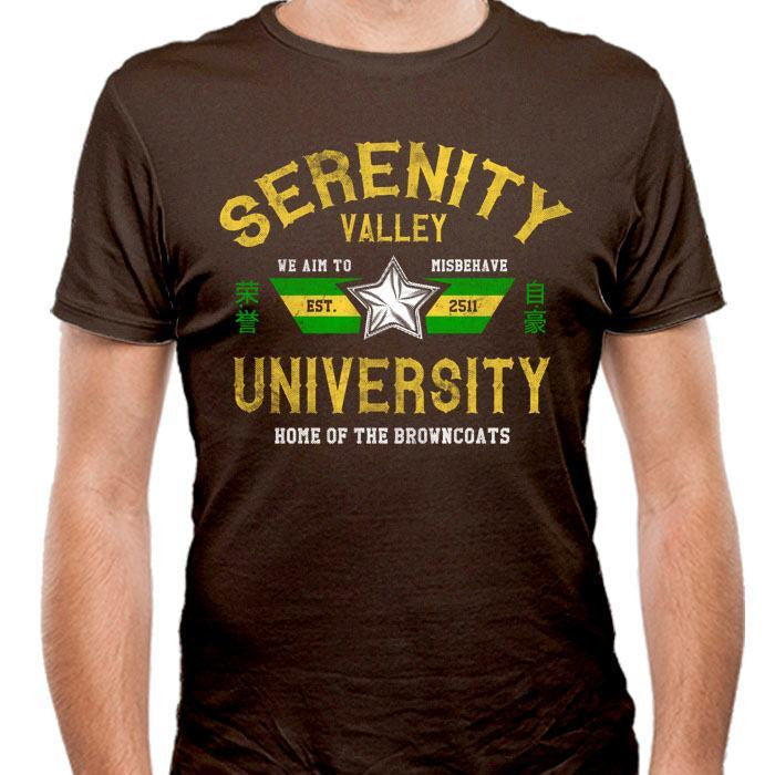 Serenity Valley University - Men's Fitted T-Shirt
