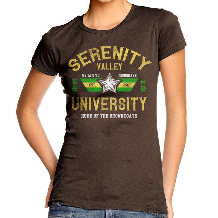Serenity Valley University - Women's Fitted T-Shirt