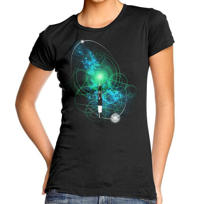 Sonic Screwdriver - Women's Fitted T-Shirt