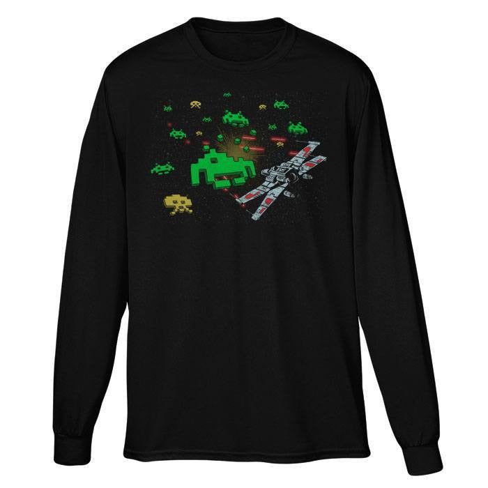 Star Invaders - Long Sleeve T-Shirt (Unisex)