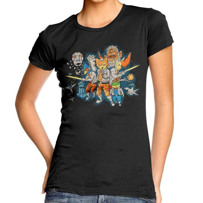 Star Team - Women's Fitted T-Shirt