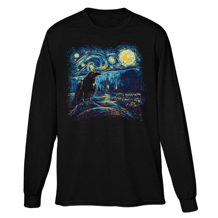 Starry Night's Watch - Long Sleeve T-Shirt (Unisex)