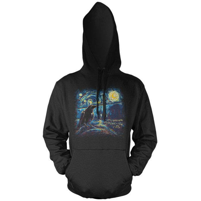 Starry Night's Watch - Pullover Hoodie