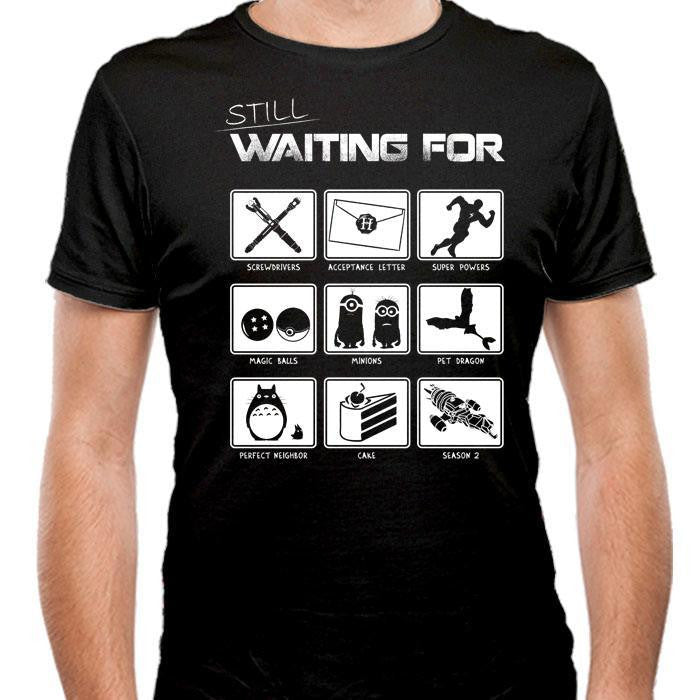 Still Waiting - Men's Fitted T-Shirt