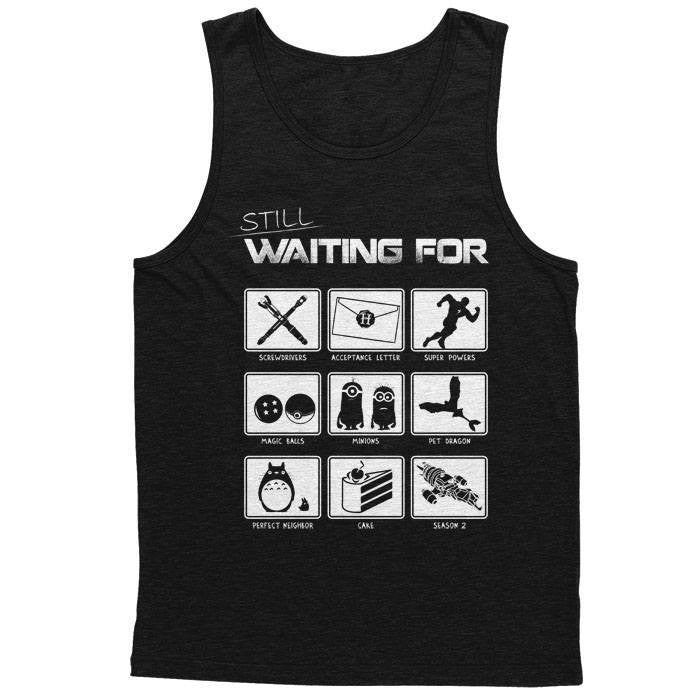 Still Waiting - Men's Tank Top