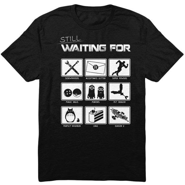 Still Waiting - Men's T-Shirt