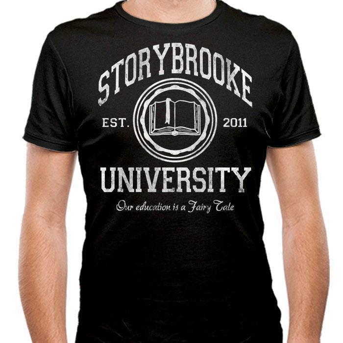 Storybrooke University - Men's Fitted T-Shirt