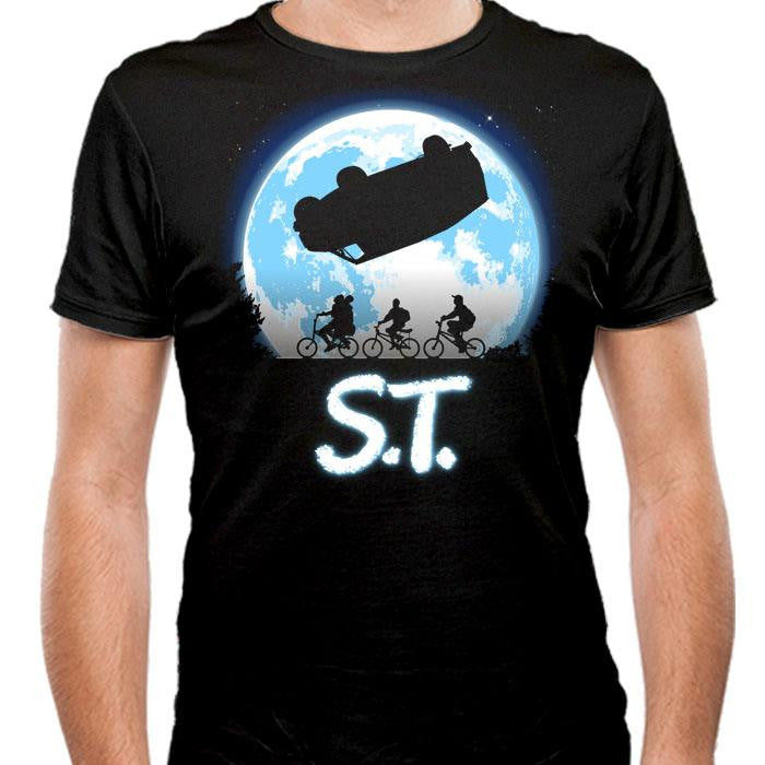 Stranger Terrestrial - Men's Fitted T-Shirt