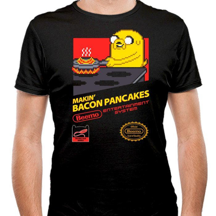 Super Bacon Pancakes - Men's Fitted T-Shirt