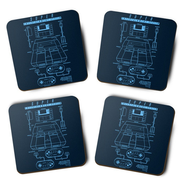 Super Entertainment System - Coasters