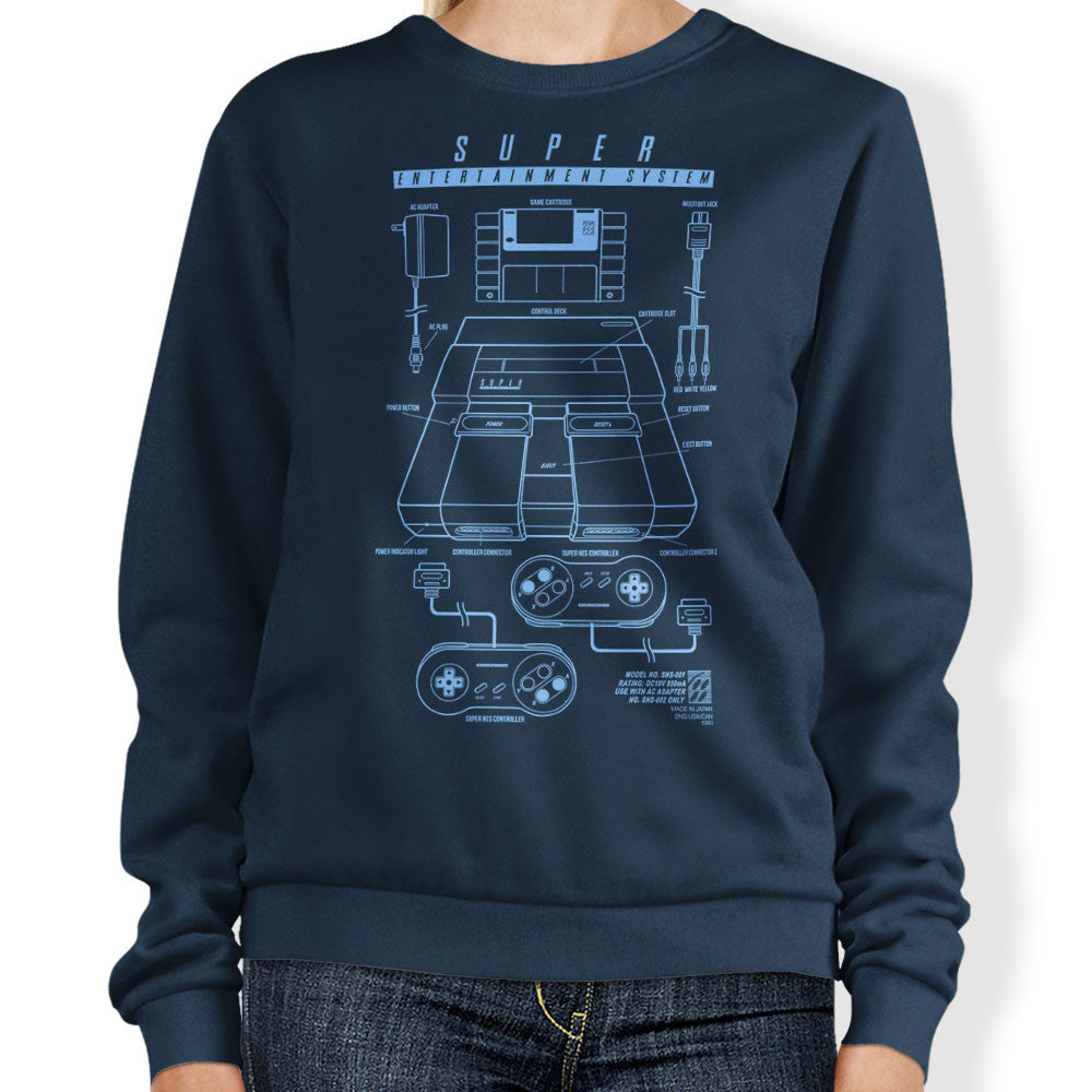 Super Entertainment System - Sweatshirt