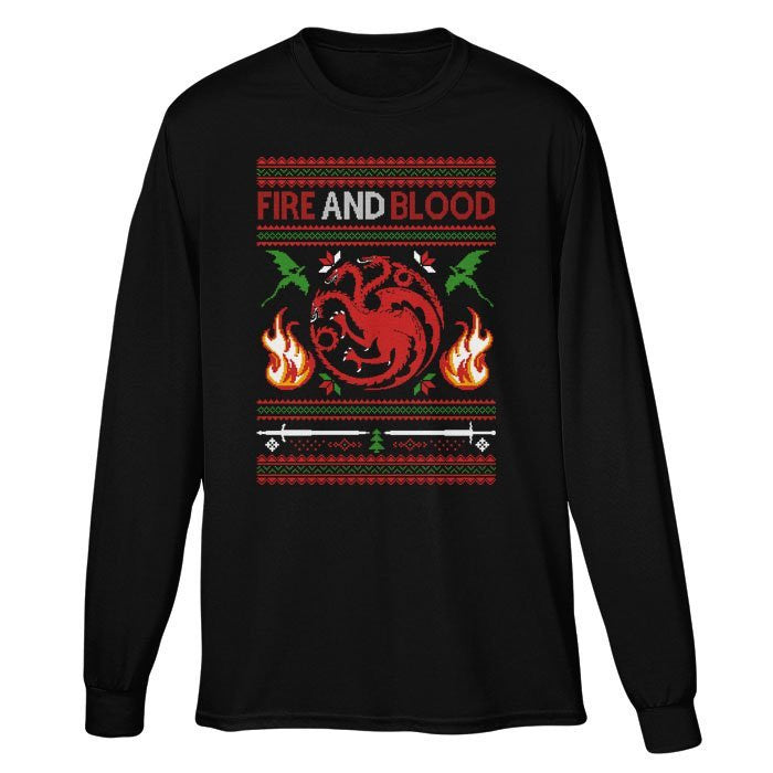 Sweater of Dragons - Long Sleeve T-Shirt (Unisex)