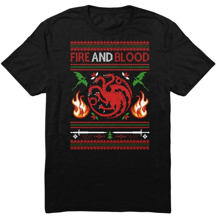Sweater of Dragons - Men's T-Shirt