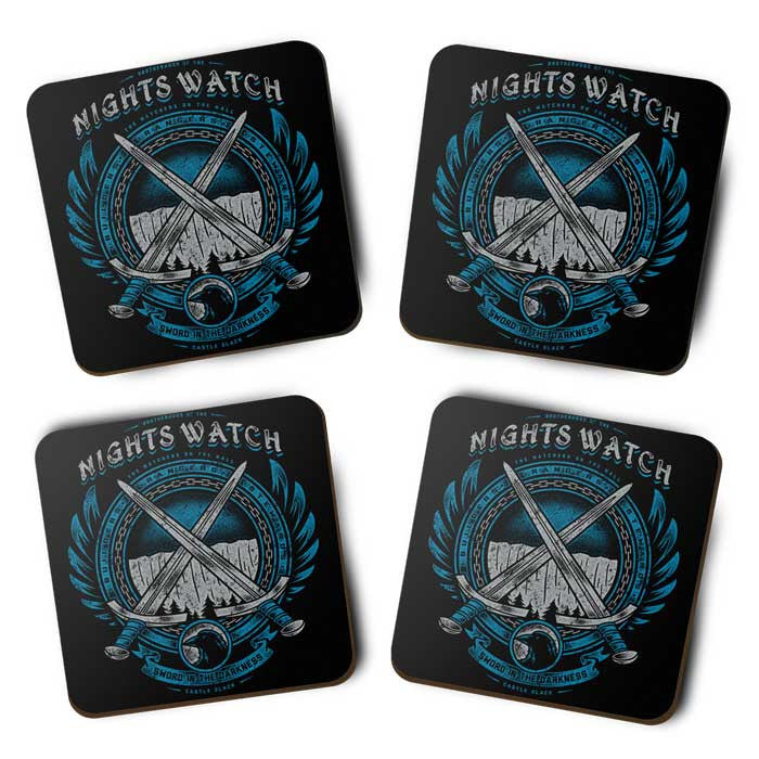 Sword in the Darkness - Coasters