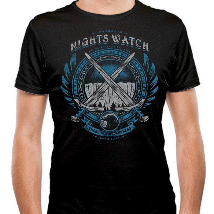 Sword in the Darkness - Men's Fitted T-Shirt
