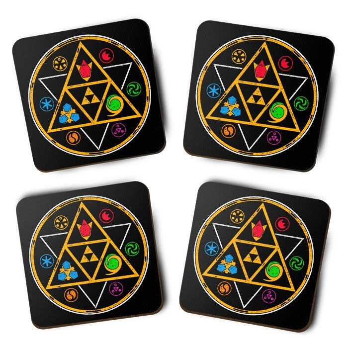 Symbols of Time - Coasters