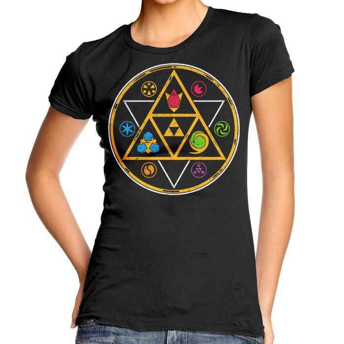 Symbols of Time - Women's Fitted T-Shirt