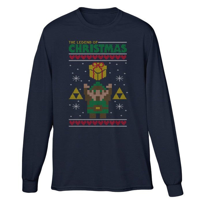 Take This Holiday Sweater - Long Sleeve T-Shirt (Unisex)
