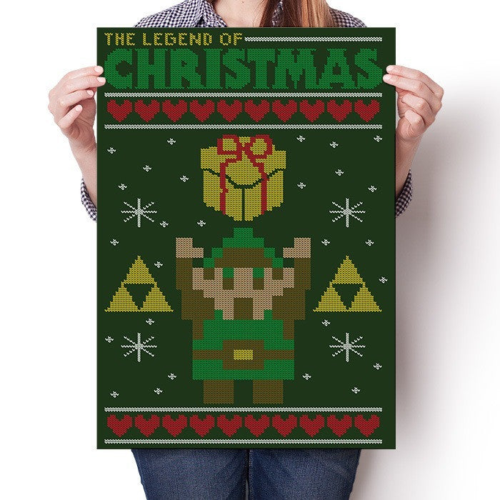 Take This Holiday Sweater - Poster