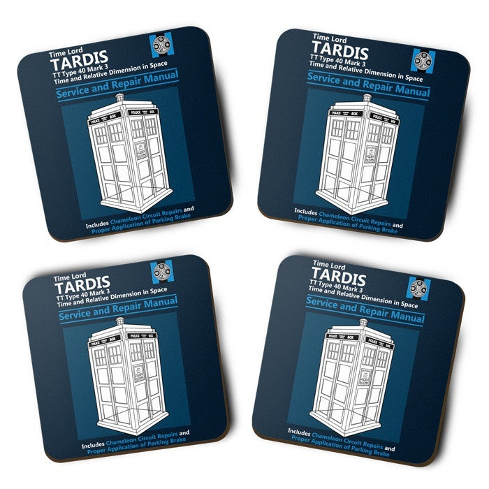 Tardis Service and Repair Manual - Coasters