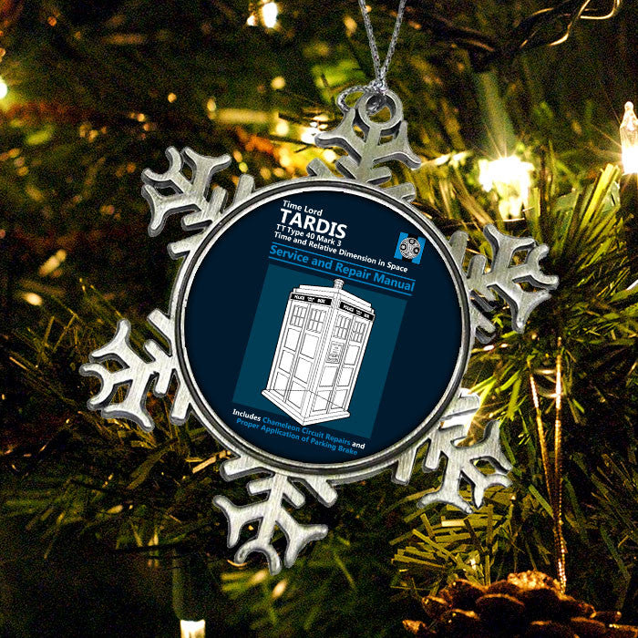Tardis Service and Repair Manual - Ornament