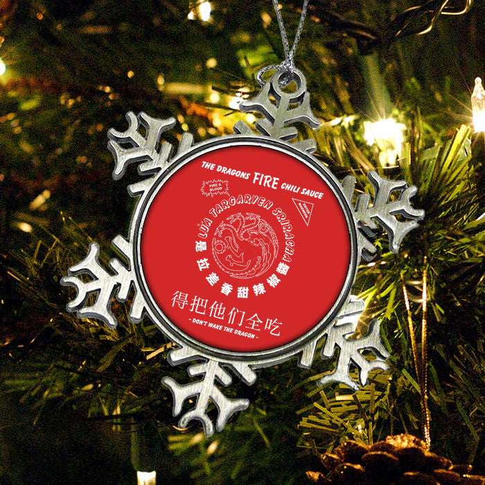 Targaryen Chili - Ornament